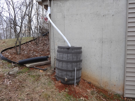 50 Gallon Rain barrel