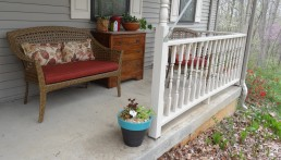 Shade mixes for my front porch