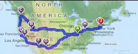 Fall 2015 Route www.travelingtUUsome.com